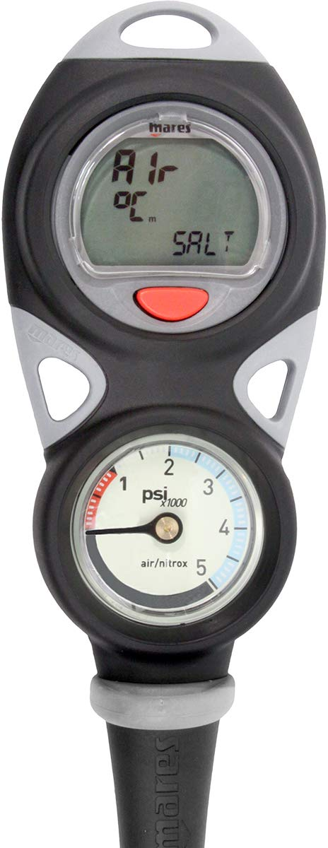 Mares Mission Puck 2 Dive Computer And Pressure Gauge