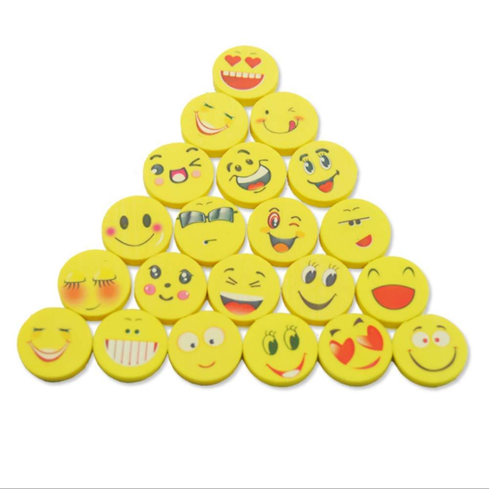 Faneli Emoji Smiley Gomas de borrar para niños, cumpleaños ...