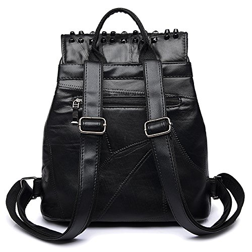 De Black Dos Sac Couture Couture à De D'école Sac De fqwvdBv