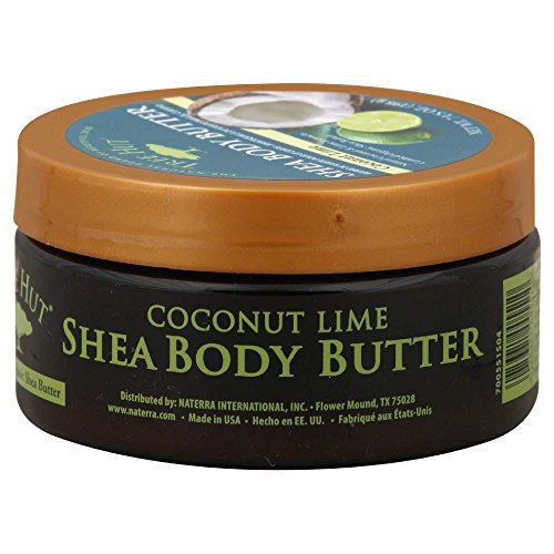 Tree Hut Naturals Shea Body Butter, Coconut Lime 7 Oz.