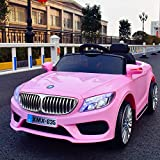 TAMCO Ride On Car Roadster, Electric Power Wheels Car Toy with Mp3 Playing Station, 4 Wheel Shock, Head Lights and Taillights, Max Load 66LB