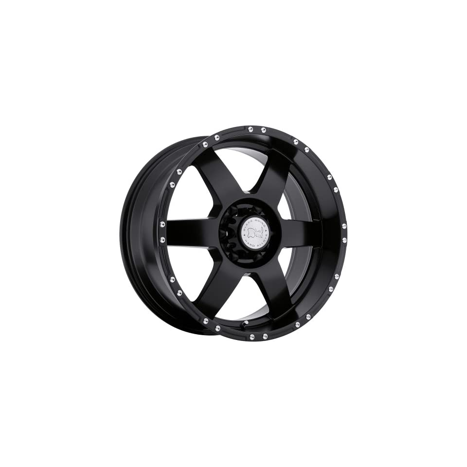 Black Rhino Arcos 17 Black Wheel / Rim 5x5 with a  12mm Offset and a 78.1 Hub Bore. Partnumber 1790ARC 25127M78