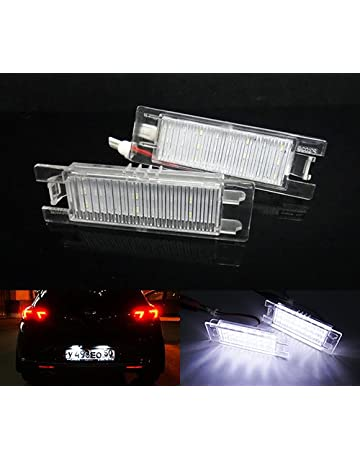 2x Rover Streetwise Bright Xenon White 3SMD LED Canbus Number Plate Light Bulbs