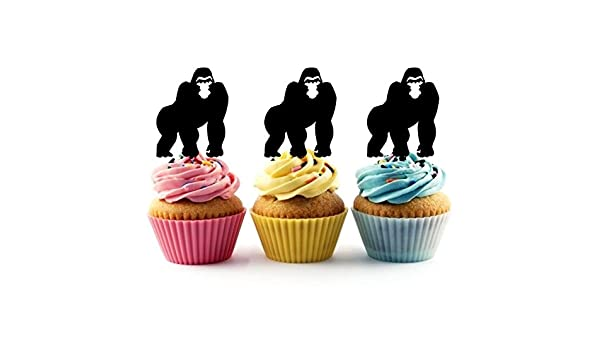 Acrylic Orangutan Birthday Cake Topper Decoration