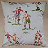 Cushion Cover in Cath Kidston Footie 16'