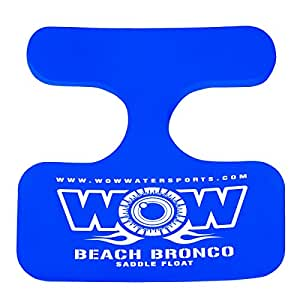 WOW World of Watersports 14-2130 Beach Bronco Floating Pool Seat, Saddle Float, Blue