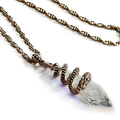 Elvira's Mystical Crystal Snake Necklace (Mystical Crystal)
