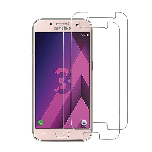 42 opinioni per [2 Pack] Samsung Galaxy A3 2017 Pellicola Protettiva, Kocele 9H Calotta di