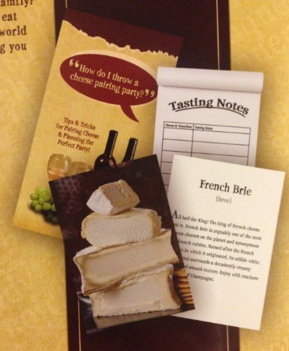 Tasting Party Cheese Kit (1 X Perfect Partners CHEESE, BEER & WINE TASTING PARTY KIT Guide to Pairing Parties)