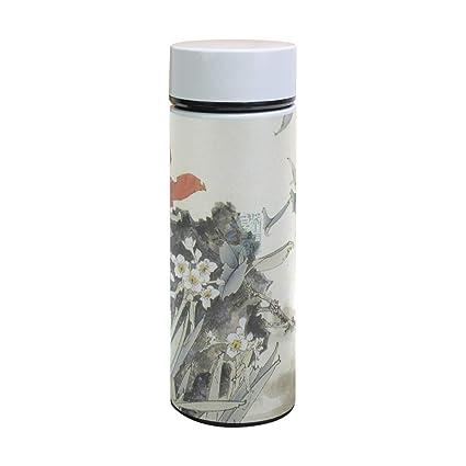 Amazon.com: Taza de vacío de acero inoxidable con ...