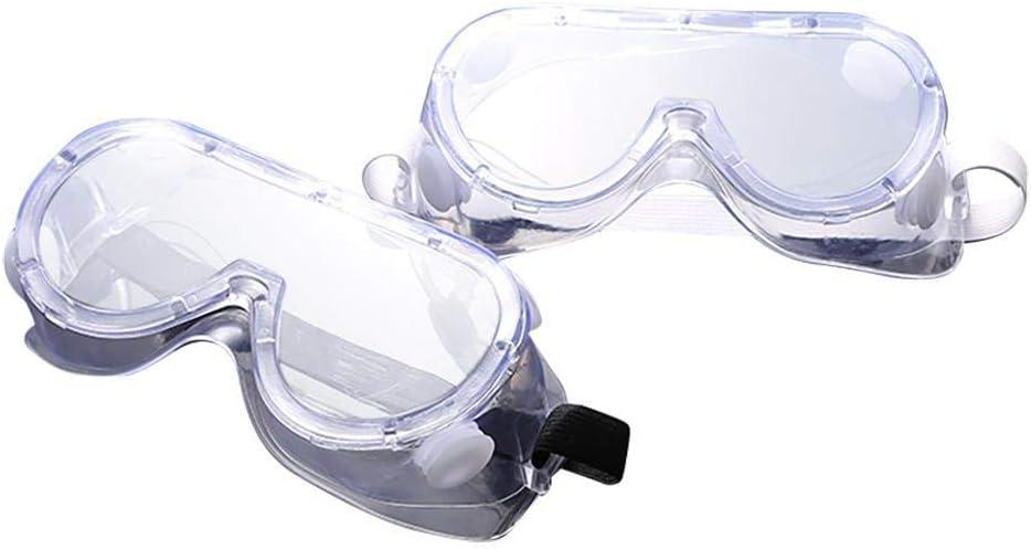 Gafas de viento y arena antivaho con protección UV para esquí, hierro arena, antisalpicaduras, color Color: como se muestra en la imagen., tamaño 2 pares