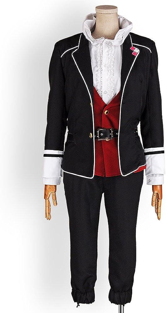Diabolik Lovers Kanato Sakamaki Cosplay Costume Red Uniform Free Shipping