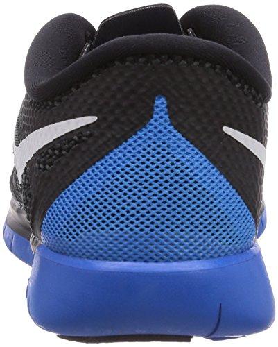 Nike Kids Free 5.0 (grande) Nero / Blu / Bianco