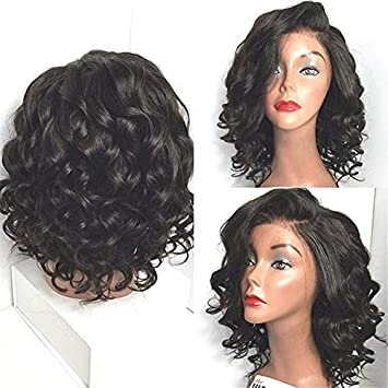 Amazon Com Wigshow Wet And Wavy Lace Front Wigs For Black Women