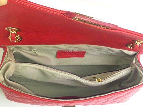 Superflybags - Bolso de asas para mujer Rojo rojo