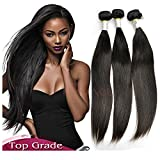 Brazilian Virgin Hair Straight 3 Bundles 8A Grade Brazilian Straight Tissage Bresilienne Human Hair Weave Super Quality Hair Products