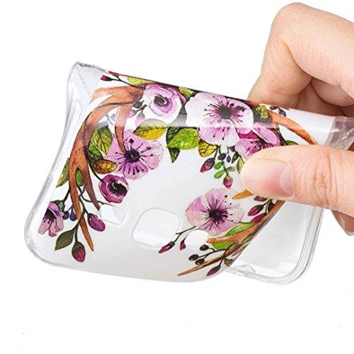 Vandot Funda Luminosa de Silicona Caucho Gel para Samsung Galaxy Grand Prime SM-G530 G530H G5308W Soft TPU Silicone Case Cover Carcasa Protectora 3D Pintado Patrón Funda Blanda Suave Flexible Caja Del Light2 -10