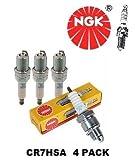 NGK 4549 CR7HSA 4 PACK Spark Plug Plugs 4 CYLINDER V8 6 CYLINDER V TWIN V10
