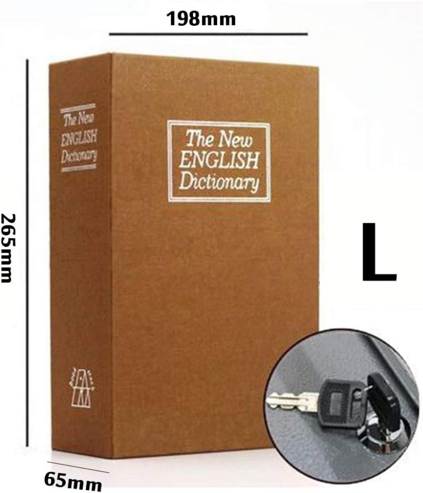 zz Caja Fuerte De Libros,Caja Fuerte con Forma De Libro De Verdad ...