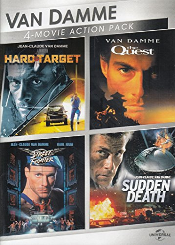 Hard Target / The Quest / Street Fighter / Sudden Death [Van Damme 4-Movie Action Pack] for $<!--$10.84-->