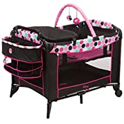 Disney Baby Sweet Wonder Playard, Black Minnie Dottie