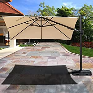 ATLANTIC PATIO Patio Umbrella with Base