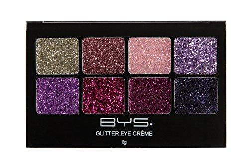 Glam Glitter - BYS Glitter Eye Cream 8 Hues Makeup Palette - Fairy Dust