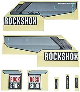 Rock Shox XC30 - Accesorio de ciclismo, color negro, talla NA