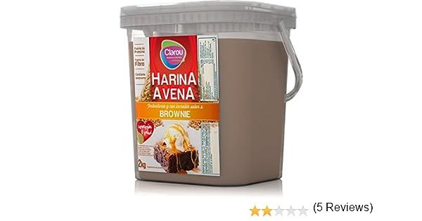 Clarou Harina de Avena 2 kg: Amazon.es: Alimentación y bebidas