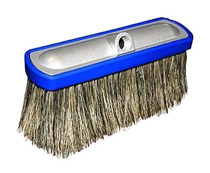 amazon com car wash 10 aluminum hogs hair brush 2 pack for car