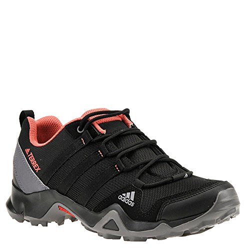 adidas Women's Terrex AX2R Hiking Shoes (7.5 B(M) US, Black/Black/Tactile Pink)