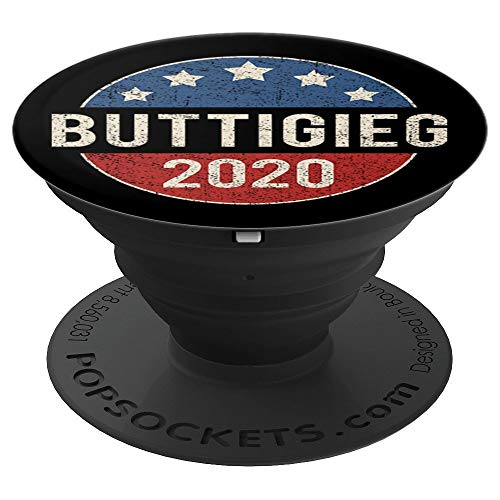 - Vintage Pete Buttigieg 2020 Campaign Button Election Retro PopSockets Grip and Stand for Phones and Tablets
