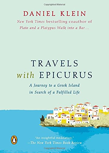 Book cover for Travels with Epicurus