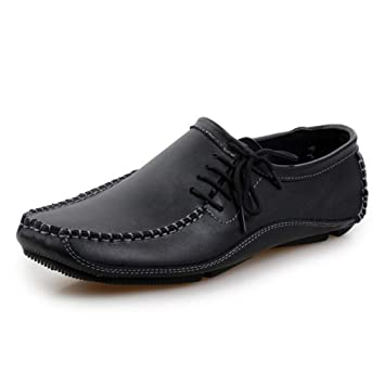 62674600d76 HhGold Nuevos Zapatos para Hombre de Cuero Verano Otoño Mocasines cómodos y  Zapatillas sin Cordones Calzados Informales Transpirables