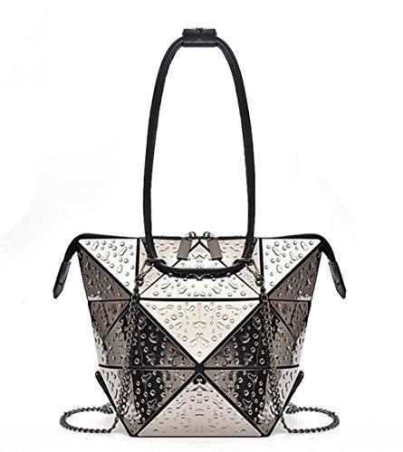 Sac fourre-tout à la mode en forme de concepteur pour femme de Pinchu, achat de bureau, léger, multifonctionnel, créatif, déformé, étain doré