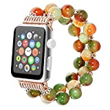 Apple watch band, Jewelry strap for apple iwatch serries 1/2/3 Color spar 38mm