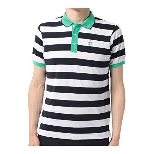マンシングウェア(Munsingwear) 半袖シャツ JWMJ214 M145 ネイビー 3L