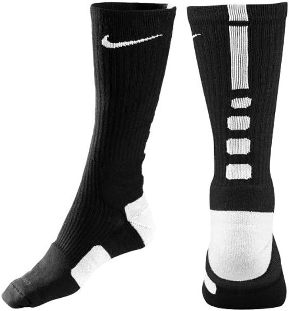 Nike Elite Performance Sock - Black/White Large