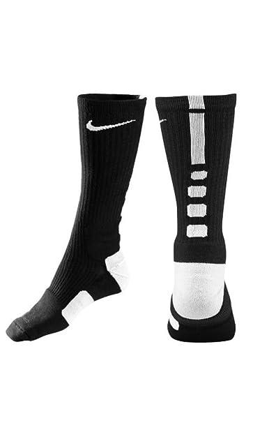 Nike Crew Calcetines Elite básquetbol: NIKE: Amazon.es ...