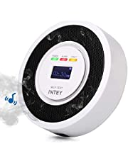 INTEY CO Alarm Detector with Digital Display& CO Detector Alarm with Rechargeable Battery for Detection of Home Carbon Monoxide