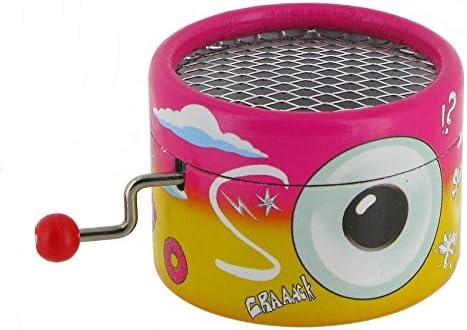 Caja de música / caja musical de manivela de cartón adornado - Los ...