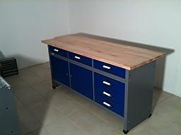 k pper werkbank 12177 made in germany 170 x 60 x 84 cm baumarkt. Black Bedroom Furniture Sets. Home Design Ideas