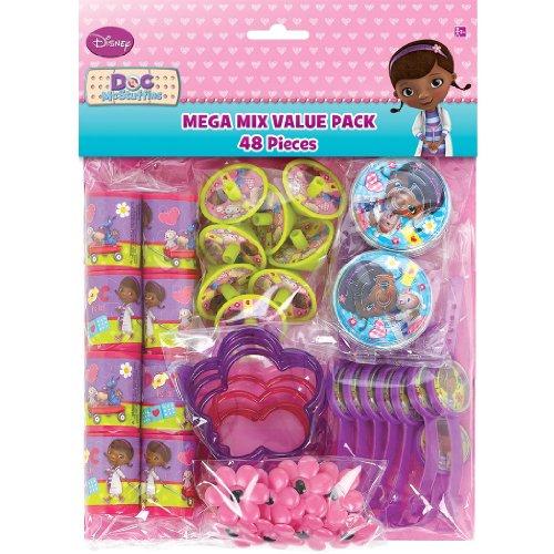 Mega Mix Favors | Disney Doc McStuffins Collection | Party Accessory ()