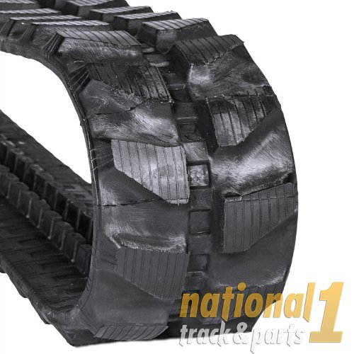 Case CX17B Rubber Track, CX 17B Track Size 230x96x35 by National 1 Track & Parts