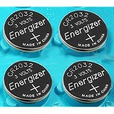Pack of 4 -- Energizer Cr2032 3v Lithium Coin Cell Battery Dl2032 Ecr2032