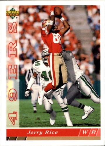 1993 Upper Deck Football Card #241 Jerry Rice Near Mint/Mint 1993 Upper Deck Football Card