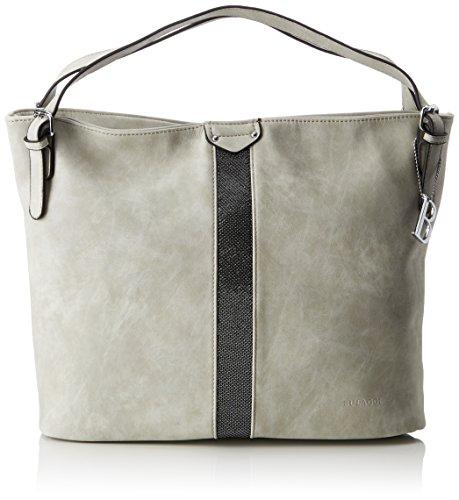 Bulaggi Levy Hobo - Shoppers y bolsos de hombro Mujer Gris (Hell Grau)