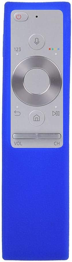 Vbestlife Funda Silicona Para Mando a Distancia Samsung, Resistente a los Golpes Carcasa Protectora Para Samsung BN59 - 01265 a TV, Azul
