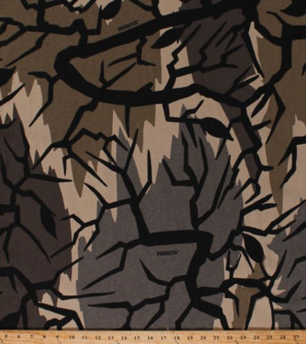 1 Pc of Predator Modern Camo Camouflage Sand Cotton Knit Fabric Print BTY (Predator Camo Fabric)