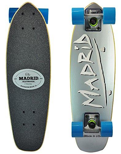 Madrid Midget Series 'Party' Skateboard Cruiser (Party Platinum)